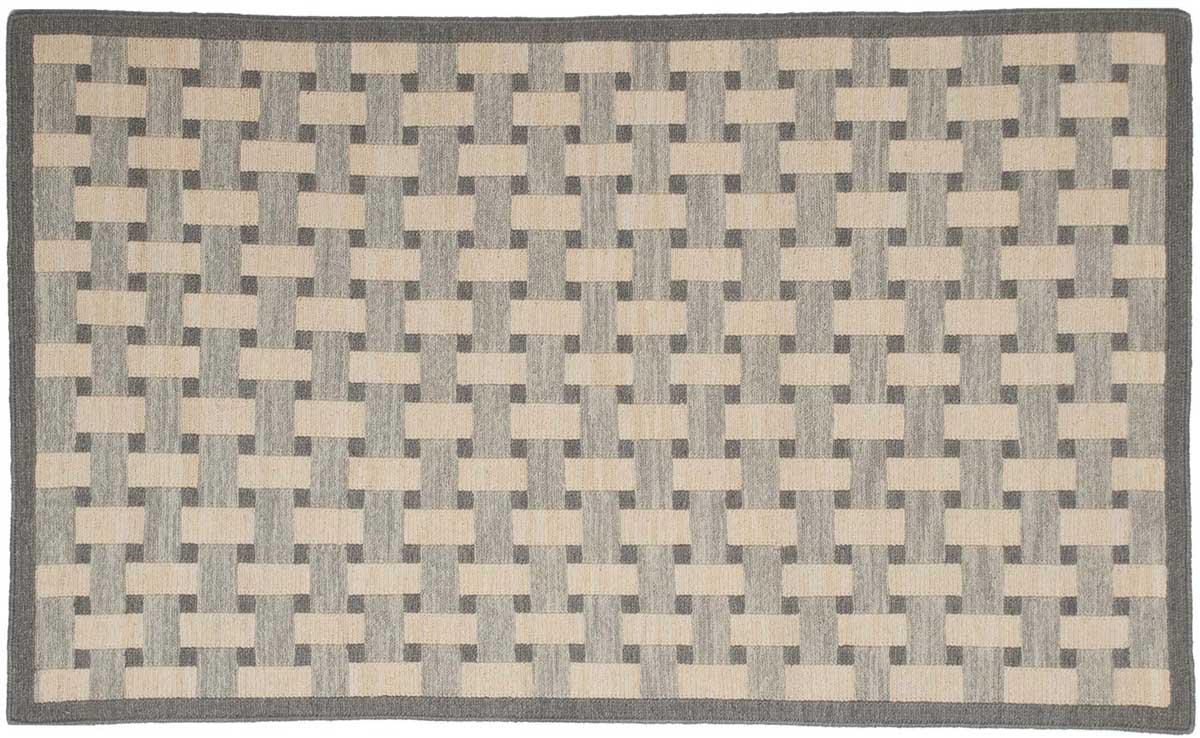 3 5 Soumak Grey Oriental Rug 043900 Carpets By Dilmaghani