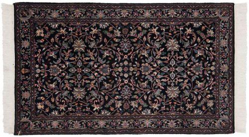 3×5 Tabriz Black Oriental Rug 037612