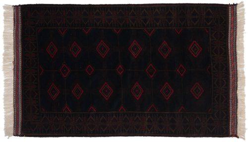 3×6 Afghan Blue Oriental Rug 030342