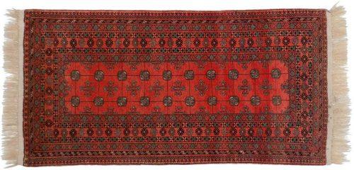 3×6 Daulatabad Red Oriental Rug 029816