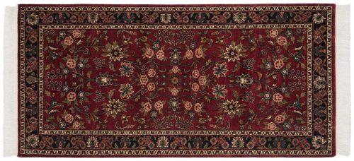 3×6 Kashan Burgundy Oriental Rug Runner 046875