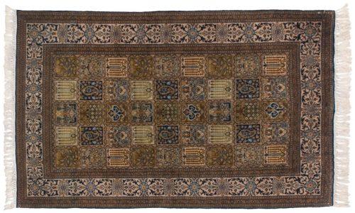 3×6 Kashmir Multi Color Oriental Rug 013158