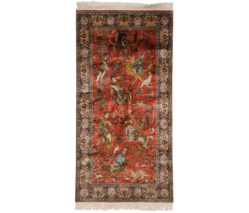 3×6 Kashmir Red Oriental Rug 013269
