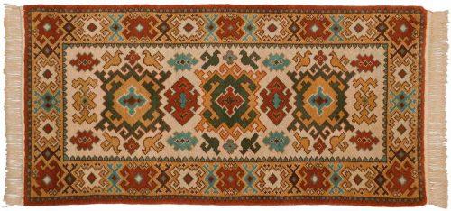 3×6 Kazak Beige Oriental Rug 027436