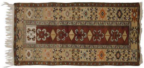 3×6 Melas Brown Oriental Rug 012400