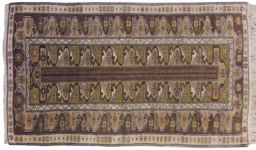 3×6 Melas Brown Oriental Rug 012402