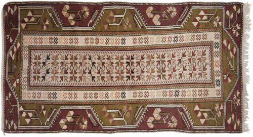 3×6 Melas Ivory Oriental Rug 033040