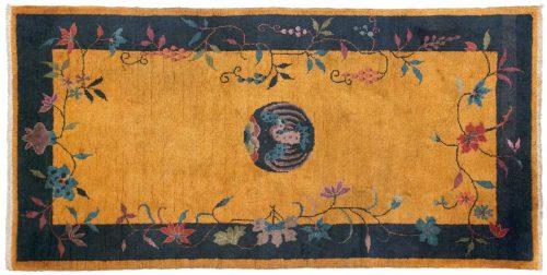 3×6 Nichols Gold Oriental Rug 039880