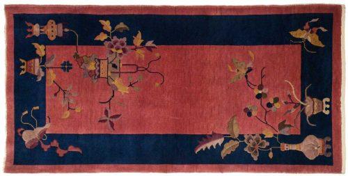 3×6 Nichols Rose Oriental Rug 014036