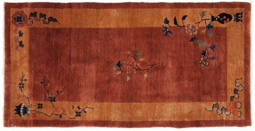3×6 Nichols Rust Oriental Rug 014037