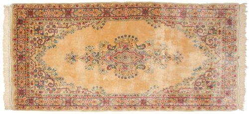 3×6 Persian Kerman Peach Oriental Rug 017564