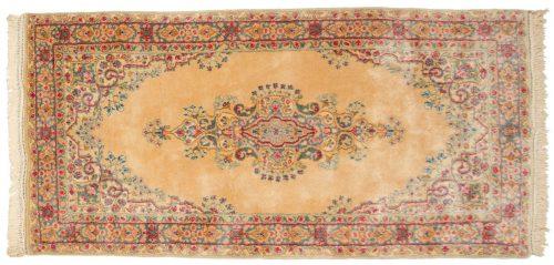 3×6 Persian Kerman Peach Oriental Rug 017565