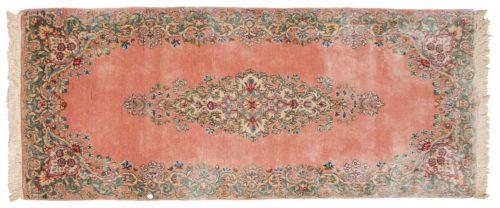 3×6 Persian Kerman Rose Oriental Rug Runner 017389
