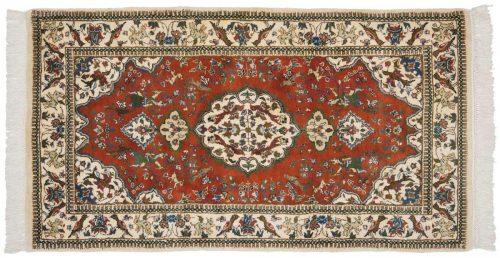 3×6 Tabriz Red Oriental Rug 025048