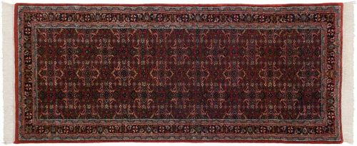 3×7 Bijar Red Oriental Rug Runner 035825