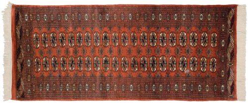 3×7 Bokhara Rust Oriental Rug Runner 029885