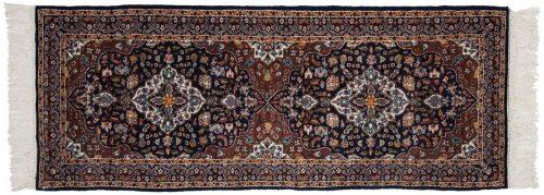 3×7 Kashan Blue Oriental Rug Runner 025243