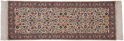 3×7 Kashan Ivory Oriental Rug Runner 034432