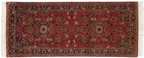 3×7 Kashan Red Oriental Rug Runner 030529