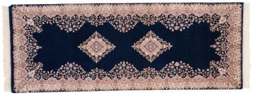 3×7 Kerman Blue Oriental Rug Runner 015694