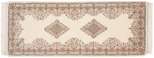 3×7 Kerman Ivory Oriental Rug Runner 015357