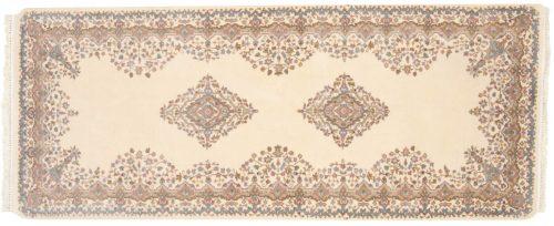 3×7 Kerman Ivory Oriental Rug Runner 015494