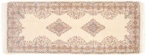 3×7 Kerman Ivory Oriental Rug Runner 015533