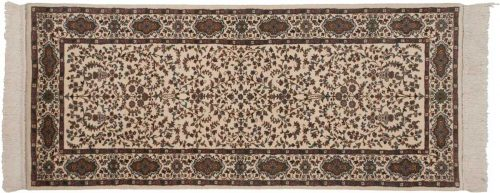 3×7 Kerman Ivory Oriental Rug Runner 026237