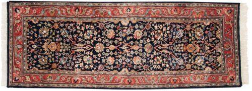 3×7 Tabriz Blue Oriental Rug Runner 015310