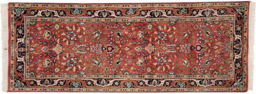 3×7 Tabriz Red Oriental Rug Runner 015199