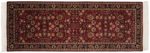 3×8 Kashan Burgundy Oriental Rug Runner 046879
