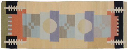 3×8 Nicholls Multi Color Oriental Rug Runner 012842