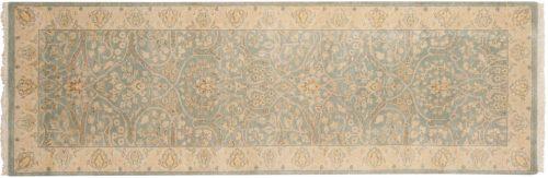 3×8 Tabriz Blue Oriental Rug Runner 046043