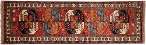 3×9 Ersari Rust Oriental Rug Runner 048859