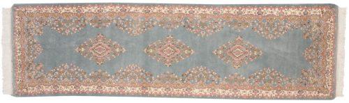3×9 Kerman Blue Oriental Rug Runner 015302