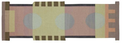3×9 Nicholls Multi Color Oriental Rug Runner 012676
