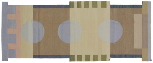 3×9 Nicholls Multi Color Oriental Rug Runner 012677