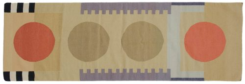 3×9 Nicholls Multi Color Oriental Rug Runner 012868