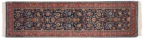 3×9 Tabriz Blue Oriental Rug Runner 015467