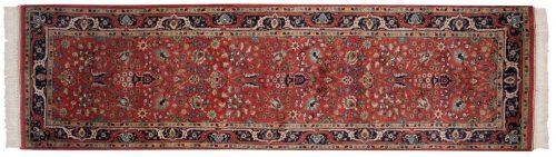 3×9 Tabriz Red Oriental Rug Runner 015473
