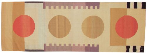 4×12 Nicholls Multi Color Oriental Rug Runner 012754