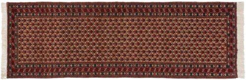 4×12 Persian Ardebil Ivory Oriental Rug Runner 035120