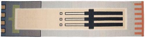 4×16 Nicholls Multi Color Oriental Rug Runner 024594