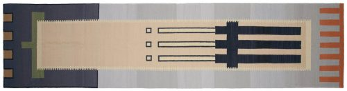4×16 Nicholls Multi Color Oriental Rug Runner 024719