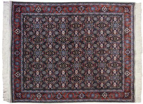 4×5 Bulgarian Blue Oriental Rug 017216