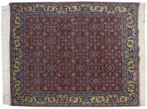 4×5 Bulgarian Rust Oriental Rug 017223