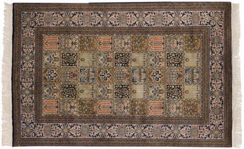 4×5 Kashmir Multi Color Oriental Rug 013175