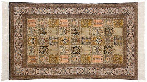 4×5 Kashmir Multi Color Oriental Rug 013176