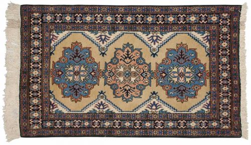 4×5 Persian Ardebil Gold Oriental Rug 035535