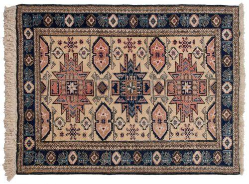 4×5 Persian Ardebil Ivory Oriental Rug 035575